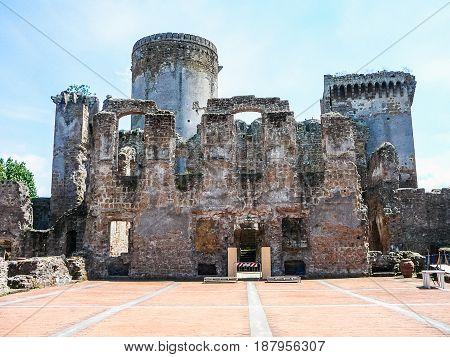 Hdr Castello Borgia In Nepi