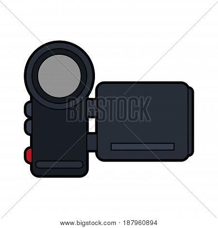mobile videocamera icon image vector illustration design