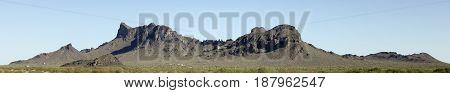 A Picacho Peak State Park Panorama near Picacho Arizona