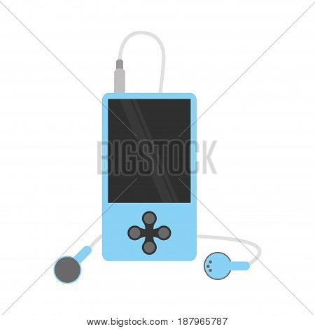 music player icon image vector illustration design