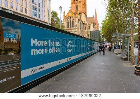Melbourne Infrastructure Development Advertising
