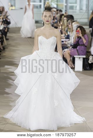 Ines Di Santo - Spring 2018 Collection - New York Fashion Week Bridal