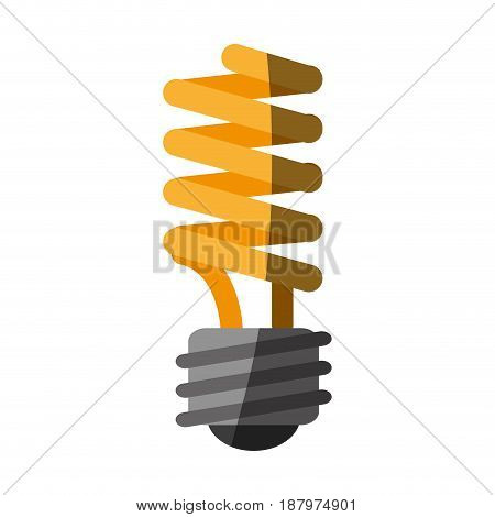 energy saving lightbulb eco friendly related icon image vector illustration design