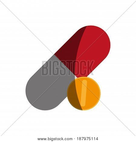 medication healthcare related icon image vector illustration design