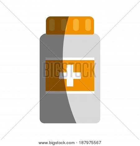 medication pills package  healthcare related icon image vector illustration design