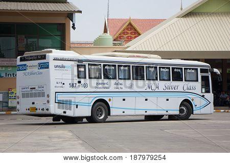 Bus Of Nakhonchai Air. Route Chiangmai And Ubon Ratchathani.