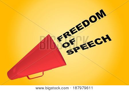 Freedom Of Speech Concept