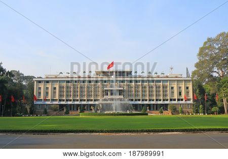 Independence Palace Ho Chi Minh City Saigon Vietnam