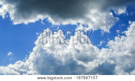 Sky, blue sky and clouds, blue sky beautiful, blue sky background, beautiful sky and clouds in the good day, sky texture, blue sky, clouds