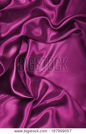 Smooth Elegant Burgundy Silk Or Satin As Background
