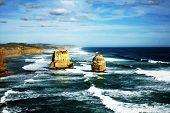 Twelve Apostles, great ocean road, Australia poster