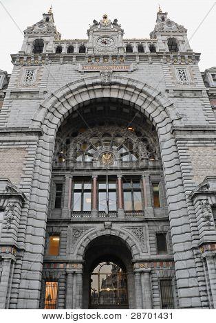 Central railway station Antwerp