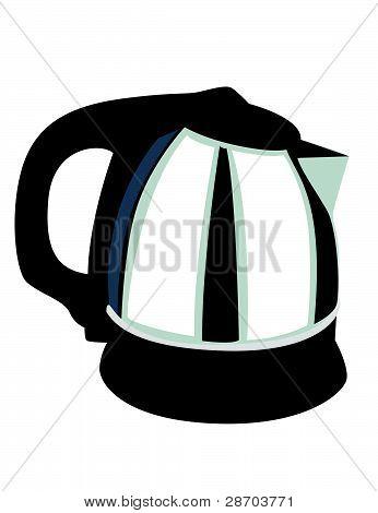 Coffee Pot Illustration