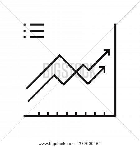 Diagram Icon Isolated On White Background. Diagram Icon In Trendy Design Style. Diagram Vector Icon