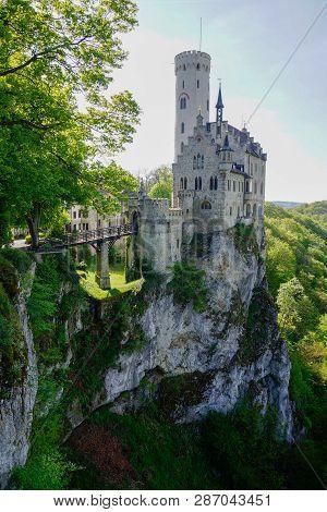 Romantic Fairy Tale Castle In Germany