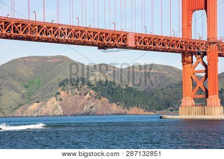 Golden Gate Bridge - The Most Internationally Recognized Symbols Of San Francisco, California And Th