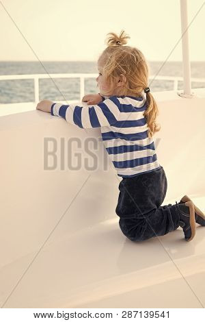 Child Enjoy Vacation On Cruise Ship. Vacation Whole Family Enjoy. Family Vacation Cruise Ship All In