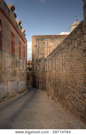 Old street in Girona