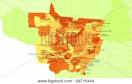 Mato Grosso State - Brazil