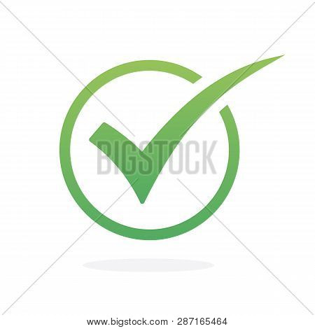 Check Icon Vector. Check Mark Icon. Check List Icon