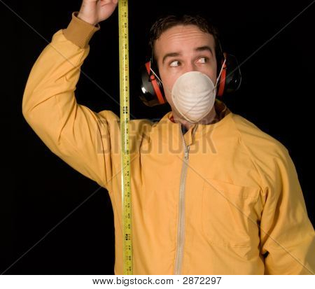 Man With Tapemeasure