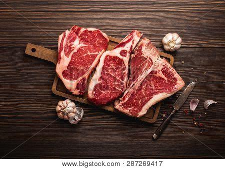 Meat Steaks On Board