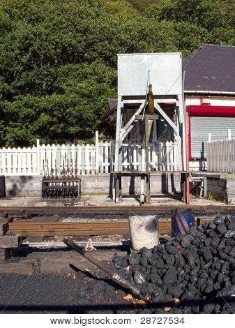 Coal And Water Tank.