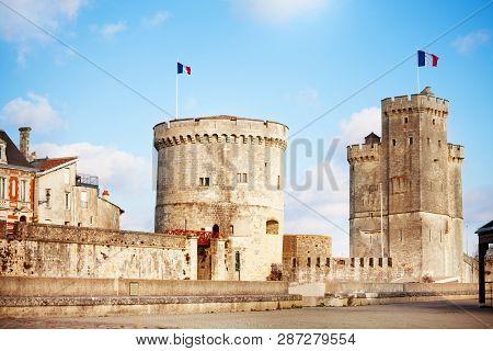 Tower Of Saint-nicolas, La Rochelle, West France