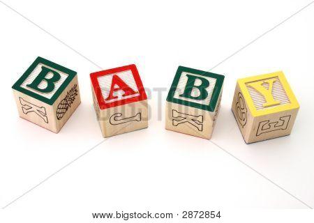 Baby Wood Blocks