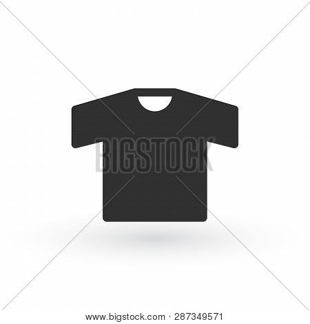 Shirt Icon, Shirt Icon Vector, In Trendy Flat Style Isolated On White Background. Shirt Icon Image,