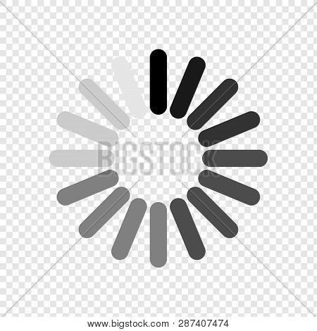 Loading Icon. Load Icon. Wait For A Wait. Please Wait. Vector
