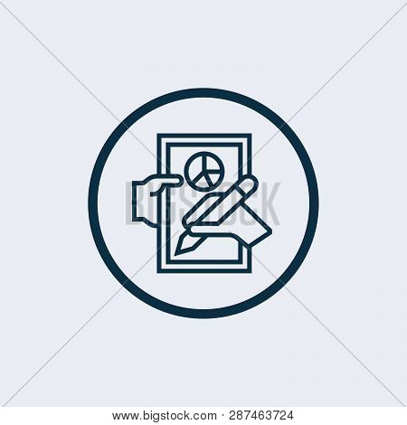 Management Icon Isolated On White Background. Management Icon Simple Sign. Management Icon Trendy An