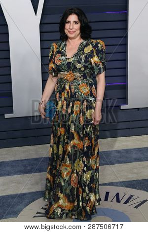 BEVERLY HILLS - FEB 24: Sue Kroll at the 2019 Vanity Fair Oscar Party at The Wallis Annenberg Center for the Performing Arts on February 24, 2019 in Beverly Hills, CA