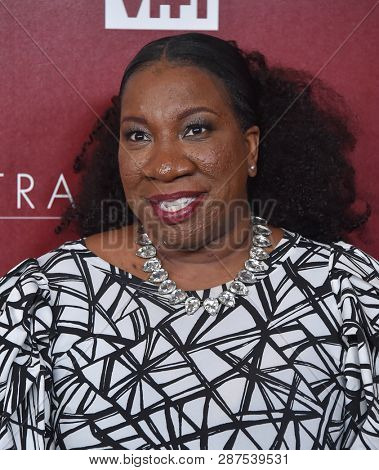 LOS ANGELES - FEB 20:  Tarana Burke arrives for VH1's Trail Blazer Honors on February 20, 2019 in Hollywood, CA