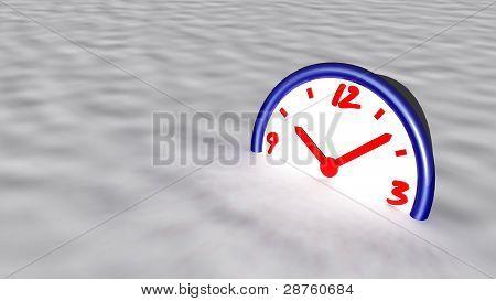 frozen time concept