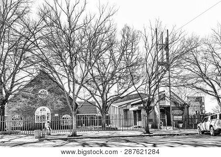Vereeniging, South Africa, July 30, 2018: The Methodist Church In Vereeniging, A Town In The Gauteng