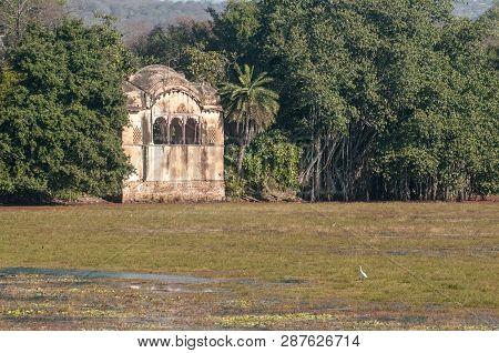 Maharajas Historic Hunting Lodge Ranthambore National Park In Rajasthan, India