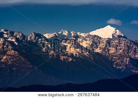Majestic Jugal Langtang Himal, Himalayas, Nepal 2019 March
