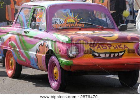 Mini Car In Callithump