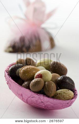 Decorative Easter Egg.  Small Eggs Inside.