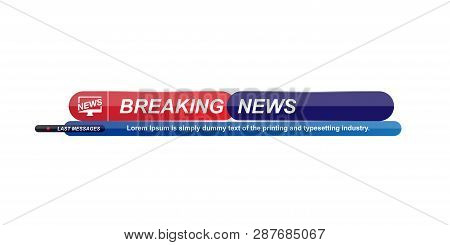 Breaking News Vector & Photo (Free Trial)   Bigstock