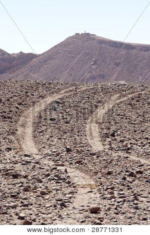 montains in San Pedro de Atacama desert