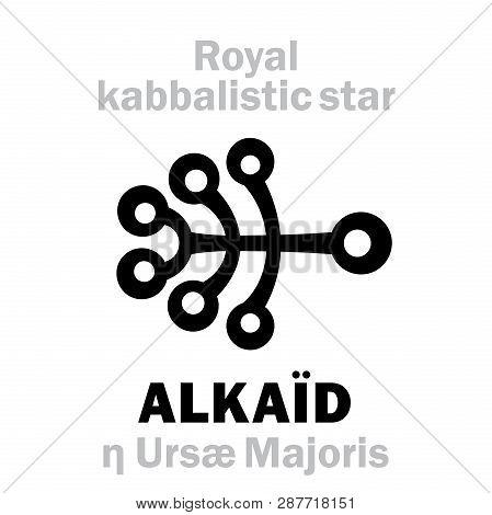 Astrology Alphabet: Alkaid / Benetnasch (eta Ursae Majoris), Cauda Ursae Majoris (the Tail Of The Gr