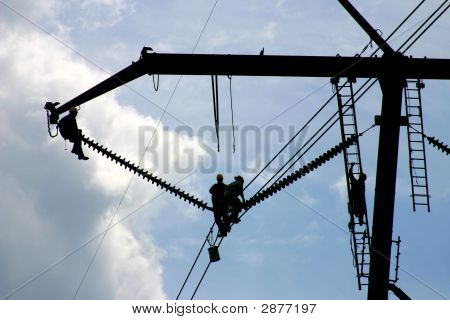 High Tension Power Workers: Powerworkers00002A