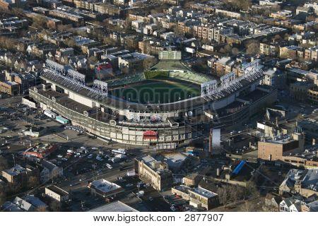 Wrigley Field.
