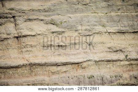 Texture Of Limestone, Quarry Limestone, Limestone Hill