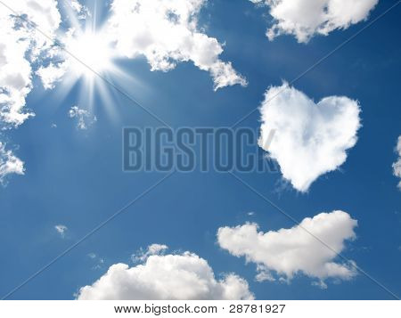 The Cloud In The Form Of Heart
