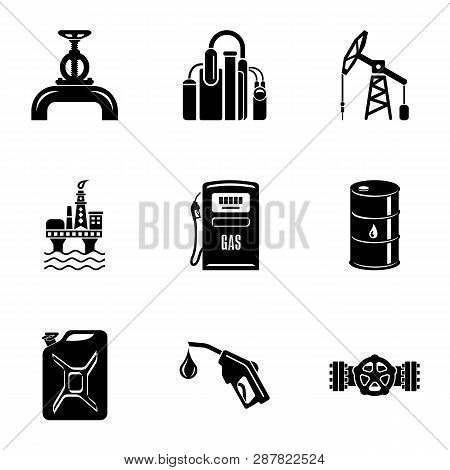 Conduit Icons Set. Simple Set Of 9 Conduit Icons For Web Isolated On White Background