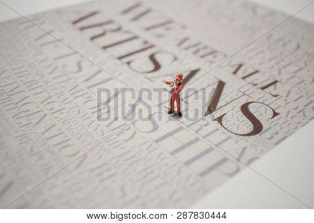 Fun Of Figure In Miniature World