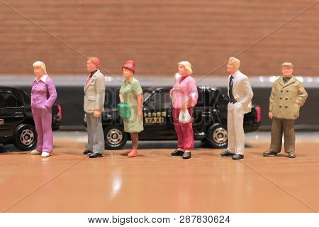 The Min Of Toys Of Japan Taxi